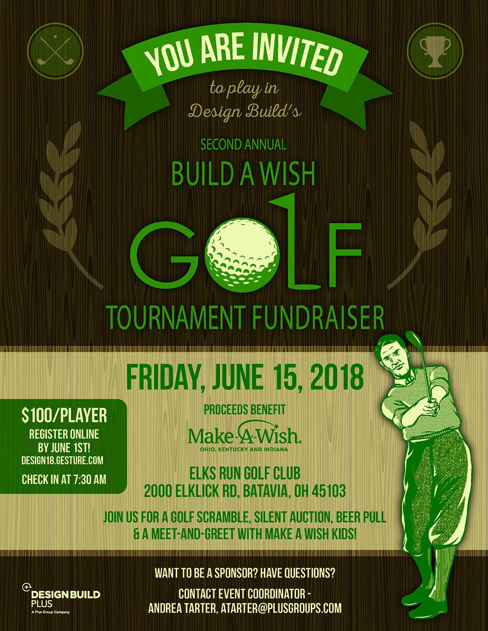 2018 Build A Wish Golf Tournament